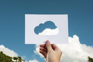 hand cloud stencil
