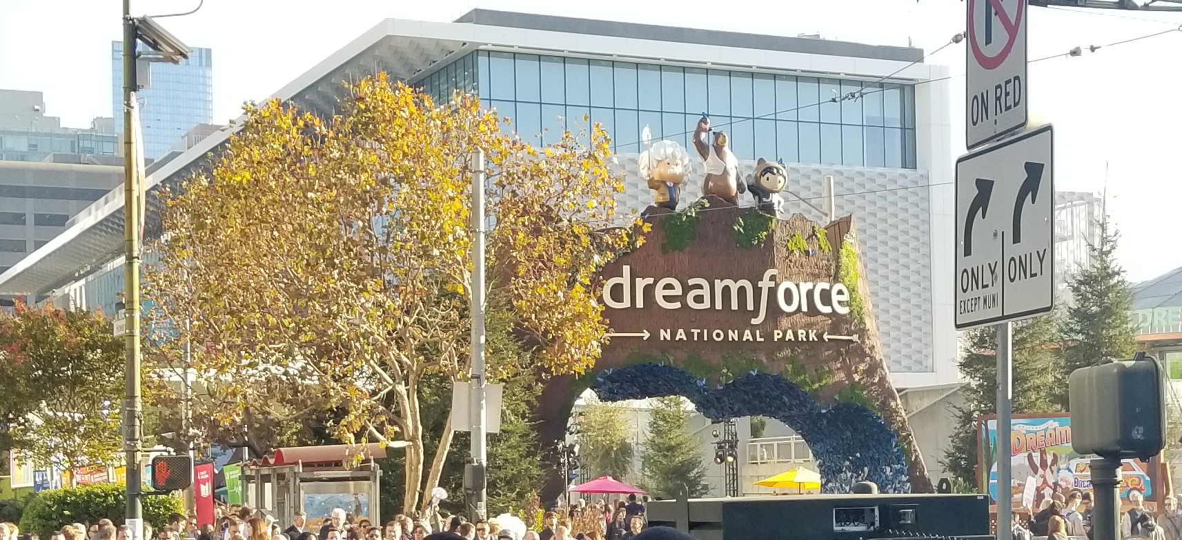 Dreamforce Park 2019 - Redpath