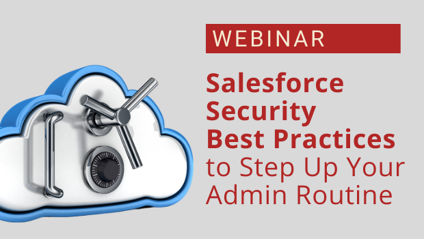 Salesforce security best practices - Redpath webinar
