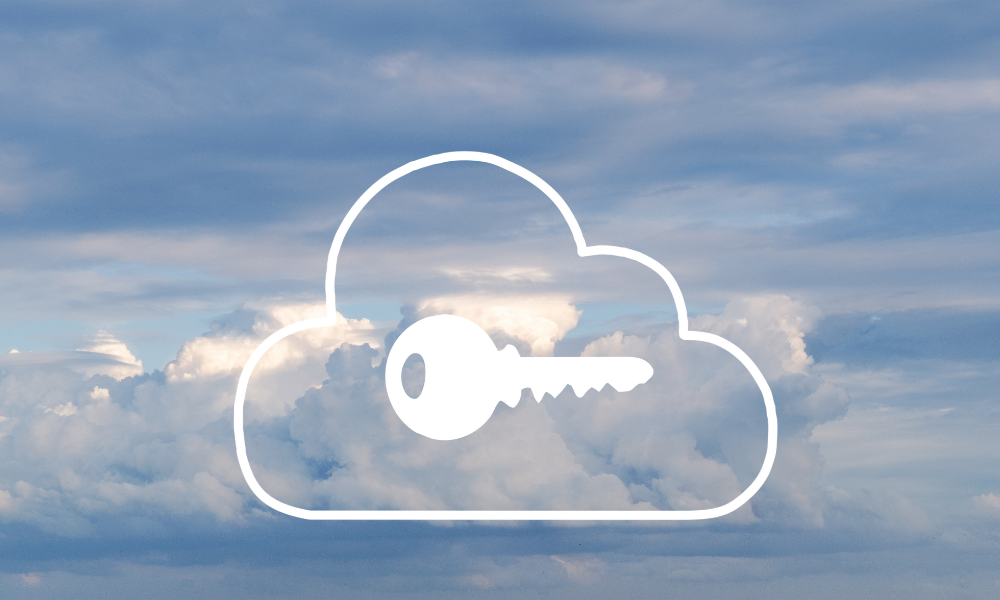 cloud security key